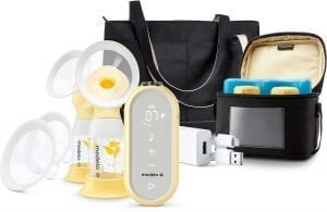 product photo of Medela Freestyle Flex breast pump with tote